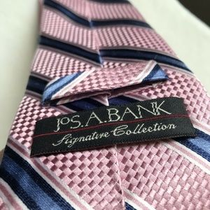 NEW Two Jos. A BANK Signature Collection Silk